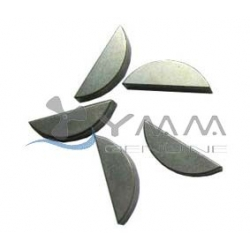 Yamaha 115 t/m 150 pk impeller spie past bij de impeller GLM89930 (productnummer 90280-04M05-00)