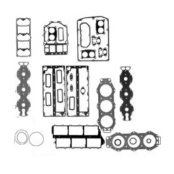 Gasket set C150 HP 96-99, HP HP 89, 89, L150 150/175/200 ETLN/ETXN 84-89 P150, V6 special (6G7) 84-86. Order number: MAL9-64405