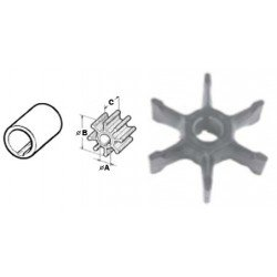 Nr.3 - 382547 Impeller Johnson Evinrude buitenboordmotor