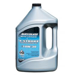 10W30 - 4-takt & Diesel Quicksilver Motorolie (4L fles)