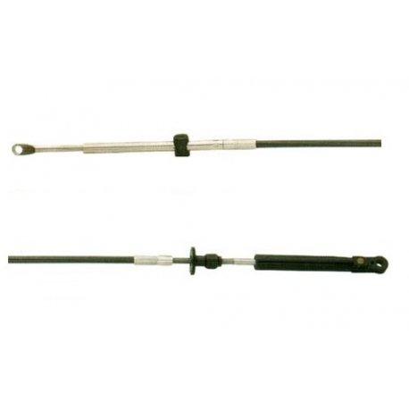 3.65 m - Gashendel Boot Kabel C14 Johnson, Evinrude & OMC
