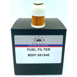 Mercury fuel filter 75/80/90/100/115 HP 4-stroke. Order number: MAL9-37961. L.r.: 881540