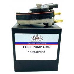 Fuel pump/Fuel Pump 20 to 30 HP (1990-2000) Johnson Evinrude outboard motor. Original: 438555, 433386