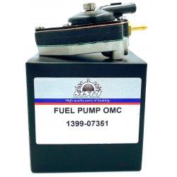 Fuel pump/Fuel Pump Johnson Evinrude 9.9 & 15 HP (1993-2002). Original: 438562