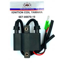 680-85570-09, 6E7-85570-19, 695-85570-10 - Ignition coil 9.9 to 48 hp (1888 to 1996) Yamaha outboard engine