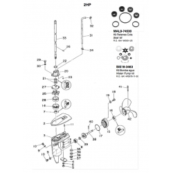 N ° 38 Gear. Original: 646-45560-00