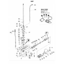 No. 4 Bushing. Original: 6E0-45316-09-