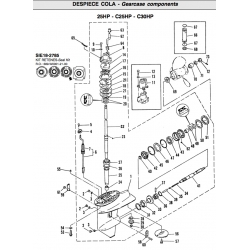 Nr.33 Gear. Origineel: 689-45560-00-00