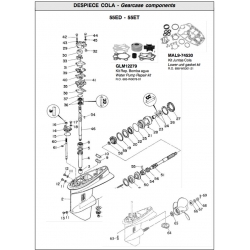 Nr.31 Gasket, Water pump. Origineel: 663-44315-A0