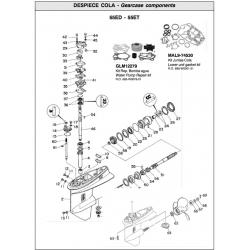 N ° 31 joint d'étanchéité, pompe à eau. Original: 663-44315-A0