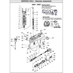 Nr.59 Compression spring. Origineel: 663-45633-00-00