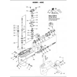 N ° 38 Gear 1 (26 t). Original: 66 t-45560-01