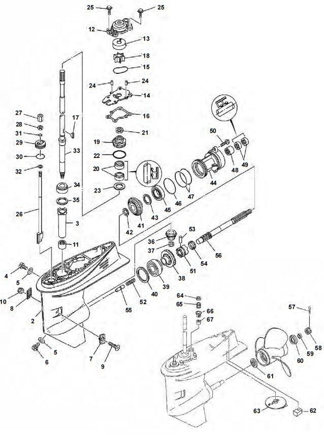 Yamaha 2 Stroke Diagram