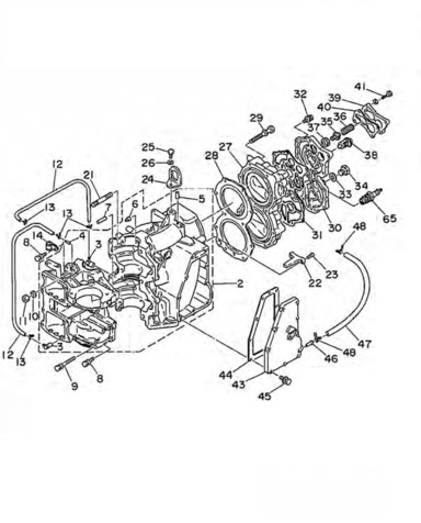 Engine Parts 48 55 Hp Yamaha Outboard Buy