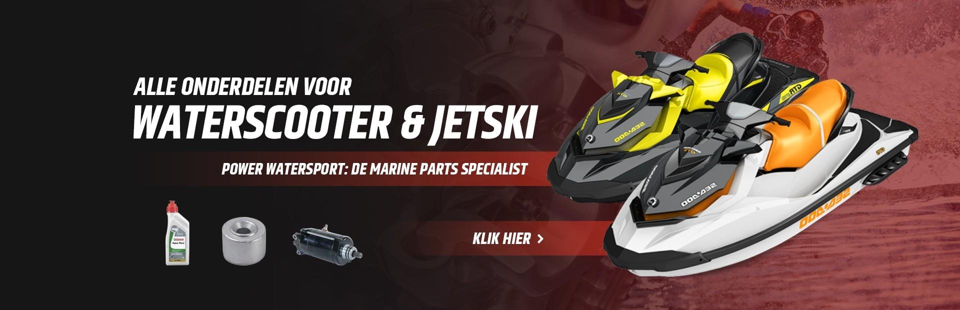 Alle onderdelen voor waterscooter & jetski